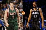 Face-off: Ersan Ilyasova vs Ryan Anderson