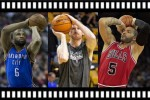 Free-throw freestylers: Fisher vs Bonner vs Boozer